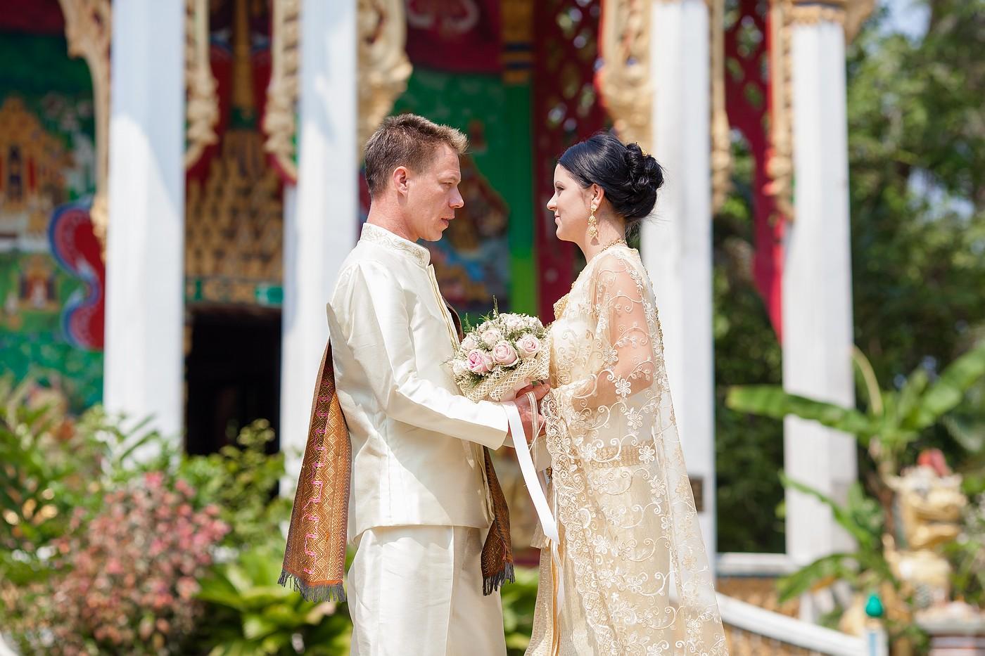 a traditionnal thai wedding essay